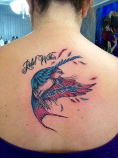 Rebel flag bird tattoo   Rebel pride   Pinterest