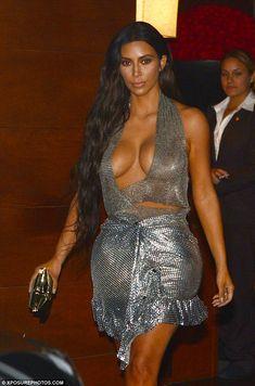 Kim Kardashian eclipsa a su marido Kanye en su propio concierto en Miami