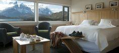 Exploradores suite, explora Patagonia. Luxury accommodation