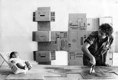 Robert Rauschenberg - check out his site! Something to just sit and look at for a while!