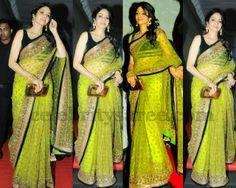 Sridevi Manish Malhotra Saree | Saree Blouse Patterns