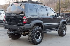 2005 Jeep Liberty Renegade 4x4 Black