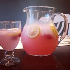 "Easy Raspberry Lemonade | ""I've made this three times now, and each time it was gone almost immediately. My only change--double the batch!"""