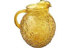 Textured Glass Pitcher on OneKingsLane.com