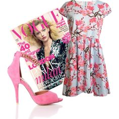 Pink Vogue at macdoll.com ♥ #fashion #fbloggersuk #fbloggers #dress #love Vogue, Shoe Bag, Creative, Polyvore, Pink, Stuff To Buy, Shopping, Collection, Dresses