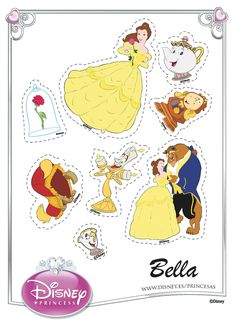 Disney's Beauty and the Beast Printables, Coloring Pages and Activities Beauty And The Beast Crafts, Beauty And The Beast Party, Beauty And The Best, Belle Beauty And The Beast, Deco Disney, Disney Princess Belle, Disney S, Coloring Books, Coloring Pages