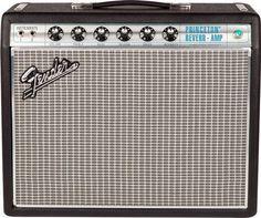 Fender 68 Custom Princeton Reverb 12 Watt 1x10 Guitar Combo Amplifier
