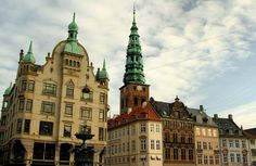 Hojbro Square Copenhage Denmark
