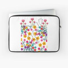 'excellent floral work ' Laptop Sleeve by Laptop Sleeves, Pattern Design, Floral Design, Art Prints, Printed, Awesome, Artwork, Shop, Gifts