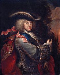 Felipe V. por Miguel J. Meléndez. 1712.