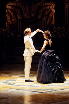 Anna and Vronsky in the beautiful adaption of Anna Karenina.