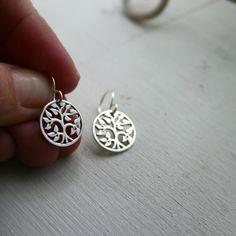 Tree earrings to embrace my inner hippie.