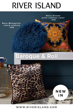 Plume. Think chic gold lanterns, Mongolian fur cushion and luxe baroque and animal prints with hints of warm pink and deep blue hues.