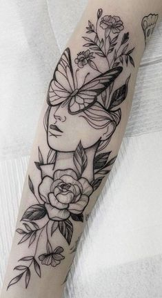 Creative Tattoos, Unique Tattoos, Beautiful Tattoos, Tattoos For Kids, Sleeve Tattoos For Women, Irezumi Tattoos, Leg Tattoos, Female Tattoos, Tatoos