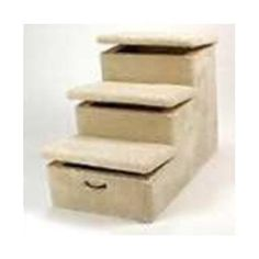 Heavy Duty 4 Step Pet Stair Color: Tan, Hinged Steps: Four, Wheels