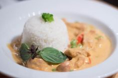 Panang Curry mmmm one of my favorites