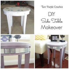 DIY Side Table Makeover (for under $40!)