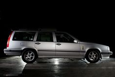 Volvo 850 in our workshop.   Flickr - Photo Sharing!