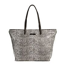 Big Tote in Midnight Snakeskin | Vera Bradley