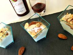 Armonia di Mandorle: Biancomangiare di mandorle... sprint! - Easy almond pudding!