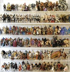 This amazing auction includes a huge lot of 1,950 different loose action figures collected over decades--starting with the vintage line in 1978--and representing over 85% of the figures documented in the new book Star Wars: The Ultimate Action Figure Collection.