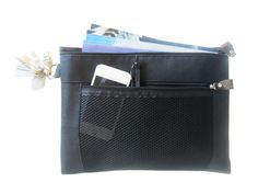 Slim Service Pouch with 2 Pockets (Black) $5.49  A slim service pouch that is compact to carry and use: 1) as a magazine organizer for the field ministry, or 2) an organizer for loose items within a larger bag.