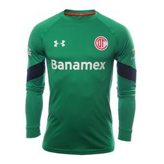 Deportivo Toluca FC (Mexico) - 2016/2017 Under Armour Goal Keeper Shirt