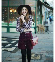 Grape skirt