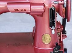 Custom Restored Singer 221 Featherweight (your choice of color)  This co0mpany will totally restore and repaint your vintage sewing machine!