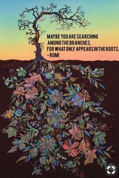 Rumi. What he said.