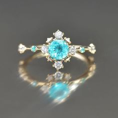 Kataoka Jewelry Paraiba Ring