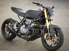 honda cbx - love it all but the headlight - blue isn't the right color on this. Honda Cbx, Motos Honda, Honda Motorcycles, Custom Motorcycles, Custom Bikes, Street Fighter Motorcycle, Cafe Racer Motorcycle, Moto Bike, Motorcycle Design