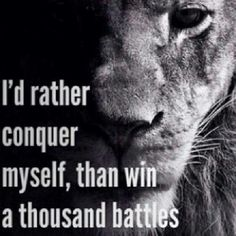 I am my own worst enemy. #beastmode #wolfmode #kingmode Conquer yourself and the world is yours.