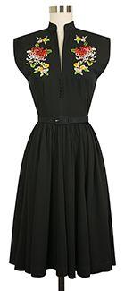 Trashy Diva Maria Dress cg-d08-16-blackrayon