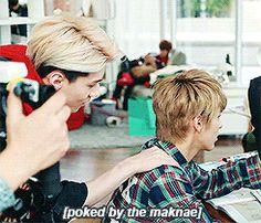 EXO lol sehun seems so proud of himself