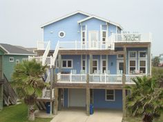 Sand Point Vacation Rental - VRBO 461848 - 4 BR Port Aransas House in TX, Private Pool at Lagoona Palooza in Sand Point with Gulf View &...