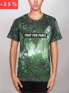 Pray for PARIS 'Rainforest' t-shirt