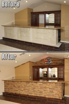 Our stacked stone siding panels in Norwich Desert Sand is an attractive and durable choice for a home bar addition.       http://www.fauxpanels.com/img_c/10-norwich/design/102.jpg