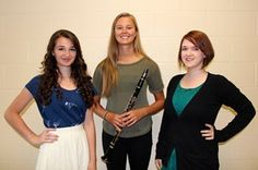 Megan, Mary and Jenna: Our NYSSMA All-State participants.