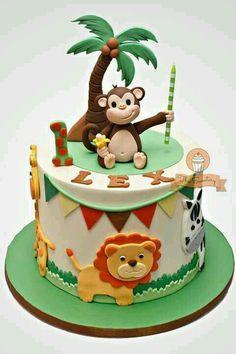 Cute animals cake | ANIMALS cakes | Pinterest | Bolos e Animais