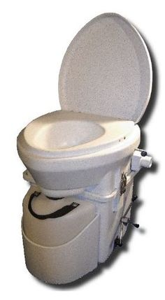 Nature's Head Self Contained Composting Toilet with Close Quarters Spider Handle.: Bricolaje y herramientas Tiny House Living, Small Living, Off Grid Tiny House, Incinerating Toilet, Tiny House Appliances, Composting Toilet, Tiny House Bathroom, Tiny House Movement, Tiny Spaces