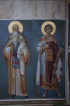 Religious Pictures, Religious Icons, Religious Art, Byzantine Icons, Byzantine Art, Russian Icons, Art Icon, Saint George, Orthodox Icons