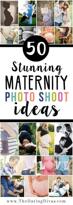 This post is AMAZING! It includes a HUGE maternity posing guide AND darling pregnancy prop ideas, too! Saving this for later!! www.TheDatingDivas.com #PregnancyPhotos