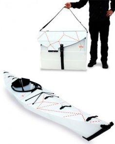 Super cool Oru Origami Kayak
