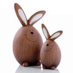 "Deko-Hasen-Set ""Ei, Ei..."" #gingar #easter Diy Osterschmuck, Raising Rabbits, About Easter, Diy Easter Decorations, Food Painting, Diy Ostern, Egg Art, All The Way Down, Easter Crafts"