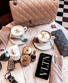 Chanel coffee 💁♀️ it's almost the weekend, have a good one lovelies 🥰✨ ⠀ Boujee Lifestyle, Luxury Lifestyle Fashion, Wealthy Lifestyle, Chanel, Bag Closet, Classy Aesthetic, Aesthetic Coffee, Luxe Life, Coffee Love