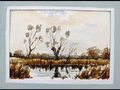 Pond . trees .