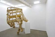 Peter Coffin  Untitled (Unfinished Hand)  2006,Wood, wire mesh and fittings  270 x 200 x 100cm