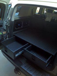 New Jeep Accessories: Rear Cargo Drawer Build - Toyota FJ Cruiser Forum - Offroad