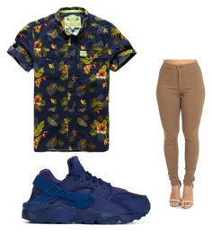 """""""Untitled #399"""" by tanasia2266 ❤ liked on Polyvore featuring Superdry and NIKE"""